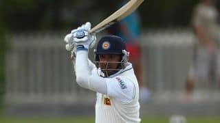 Kumar Sangakkara departs for 221, Sri Lanka extend lead past 50 against Pakistan in 1st Test