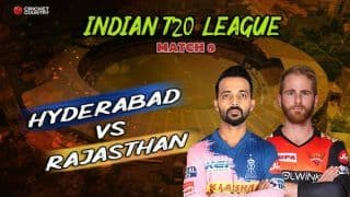 Match Highlights: Indian T20 League, Hyderabad vs Rajasthan full score and results – Hyderabad pick up first win with clinical chase