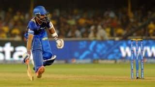 Ajinkya Rahane scores 3,000 IPL runs in game against Kolkata Knight Riders in IPL 2015