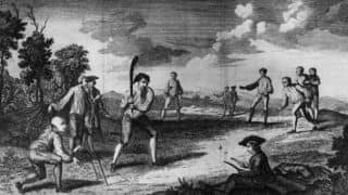1721 - The earliest mention of cricket in India