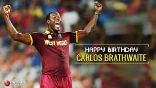 Happy B'day Carlos Brathwaite! West Indies' ICC T20 World Cup final hero turns 28