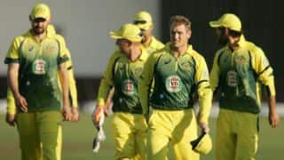 Zimbabwe Triangular Series 2014: Zimbabwe vs Australia, 1st ODI at Harare Highlights