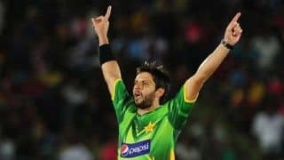Shahid Afridi: India-Pakistan matches can bring both countries together