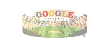 GOOGLE dedicates doodle for upcoming ICC World T20 2016 event starting on Tuesday