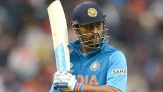 India vs New Zealand 2014, 1st ODI at Napier: India 162/4 in 35 overs