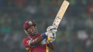 India vs West Indies 2014, 1st ODI at Kochi: West Indies 92/1 in 17 overs
