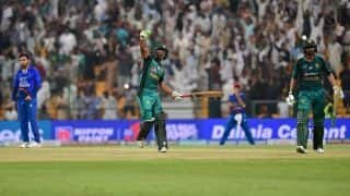 WATCH: Pakistan survive Afghanistan scare