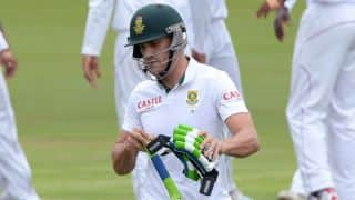 South Africa vs West Indies 2014-15: Faf du Plessis scores his seventh Test half-century