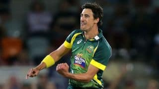 Australia vs England, 1st ODI in Sydney: Mitchell Starc snares James Taylor, Ian Bell in first over