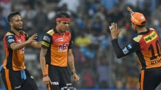 MI lose their fifth match, SRH win by 31 runs