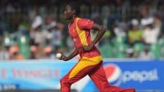 Chris Mpofu scalps four as Zimbabwe restrict Afghanistan to 155/8