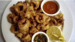 Cricket halted by fried calamari
