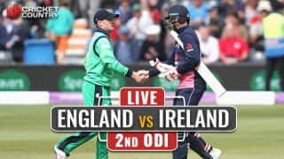 IRE 243 in 46.1 Overs | Live Cricket Score, England vs Ireland, 2nd ODI at Lord's: ENG clinch series