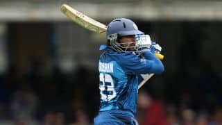 India vs Sri Lanka, 2nd ODI at Ahmedabad: Tillkaratne Dilshan dismissed by Akshar Patel