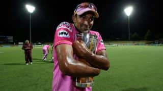 Barbados Tridents vs Northern Knights CLT20 2014 Match 20: After decent start by Tridents, Knights make comeback with late wickets