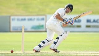 Tom Latham's 50 carries New Zealand to 86/1 at lunch on Day 1, 2nd Test