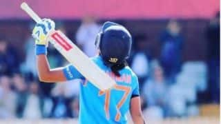 On This Day in 2017 Women's World Cup : Harmanpreet Kaur wrote her name in cricket folklore with a whirlwind 171-run knock in World Cup semi final against Australia