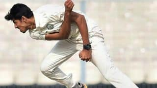 Duleep Trophy, India Red vs India Blue: Rajneesh Gurbani impresses again, India Blue on 183/5