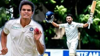 While Arjun Tendulkar makes headlines, Ayush Badoni has a stunning U-19 debut