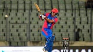 Najibullah Zadran sets up Afghanistan's 28-run win over Zimbabwe