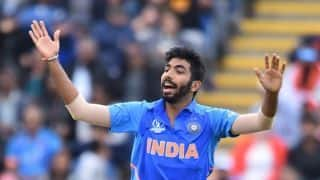 Jasprit Bumrah undergoes dope test ahead of India's Cricket World Cup 2019 opener against South Africa