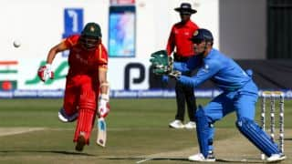 Zimbabwe off to decent start chasing India's 139 in 3rd T20I at Harare