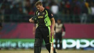 West Indies tri-series: James Faulkner wishes to bat up the order