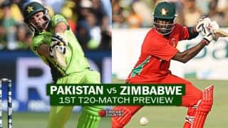 Pakistan vs Zimbabwe, 1st T20I at Lahore Preview: International cricket returns to Pakistan in historic setting