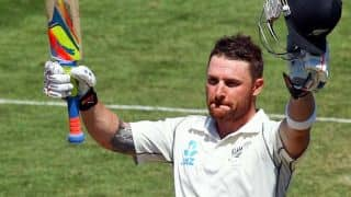 Brendon McCullum becomes first New Zealand player to score triple century