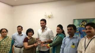 Yuvraj Singh receives Padma Shri Award