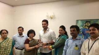 Yuvraj Singh receives Padma Shri Award