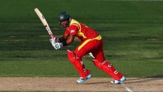Zimbabwe off to a slow start against Pakistan in ICC cricket World Cup 2015