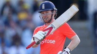 Morgan glad to leave England all smiles after T20 win