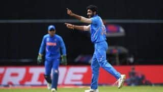 Jasprit Bumrah becomes second fastest Indian bowler to take 100 ODI wickets