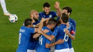 ITA 2-0 ESP, 90 Mins (FT), Live Football Score, Italy vs Spain, Euro 2016, Pre-Quarter Final, Match 43 at Saint-Denis: ITA advance to quarter-finals