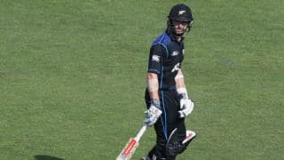 India vs New Zealand, 4th ODI: Amit Mishra snaffles Kane Williamson for 41