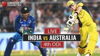 Highlights, India vs Australia, 4th ODI: IND lose