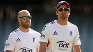 Matt Prior's Achilles injury concerns Alastair Cook ahead of Tests against Sri Lanka