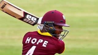 Shai Hope scores maiden ODI ton as WI tie vs ZIM in 3rd ODI