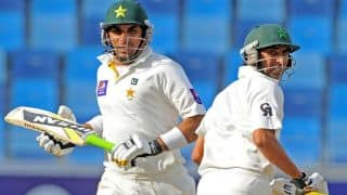Younis Khan, Misbah-ul-Haq lead Pakistan's recovery on Day 1 of 1st Test against Sri Lanka