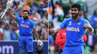 Injuries aside, rampaging Rohit, brilliant Bumrah light up India's strong World Cup run