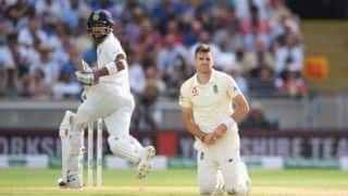 India vs England, 1st Test, Day 3: Virat Kohli firm; India 84 away from win