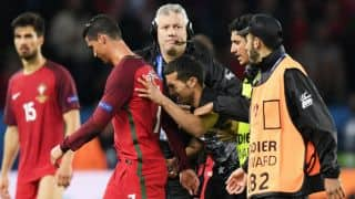 Euro 2016: When Cristiano Ronaldo joined a pitch invader for a Selfie