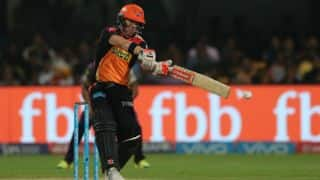 IPL 2017: Sunrisers Hyderabad's (SRH) captain David Warner wins Orange Cap