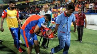 IPL 2017: Tye ruled out with dislocated shoulder