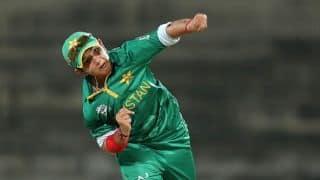 Bangladesh Women score 113 for 9 against Pakistan Women in ICC Women's T20 World Cup 2016, Match 15 at Delhi