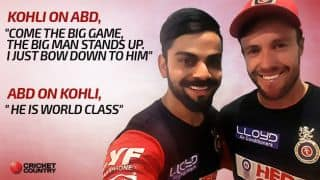 Virat Kohli and AB de Villiers: A club of mutual admiration