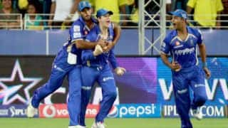 Rajasthan Royals vs Royal Challengers Bangalore Live Scorecard IPL 2014: Match 14 of IPL 7 at Abu Dhabi