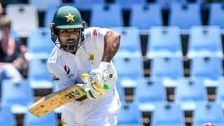 Shan Masood, Asad Shafiq fight back for Pakistan