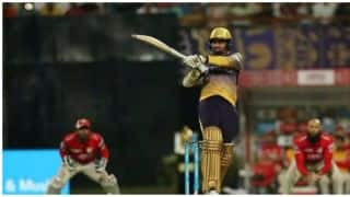IPL 2017: Sunil Narine fires Kolkata Knight Riders to highest score in powerplay